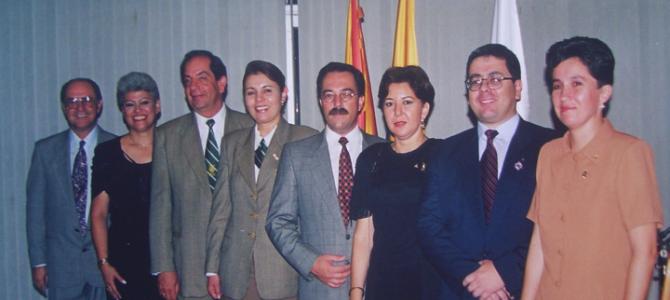 PRESIDENCIA FERNANDO POSADA 1999-2000