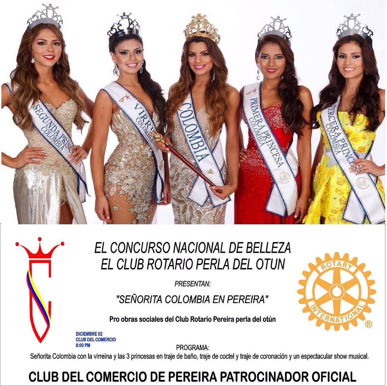 SEÑORITA COLOMBIA EN PEREIRA 2014
